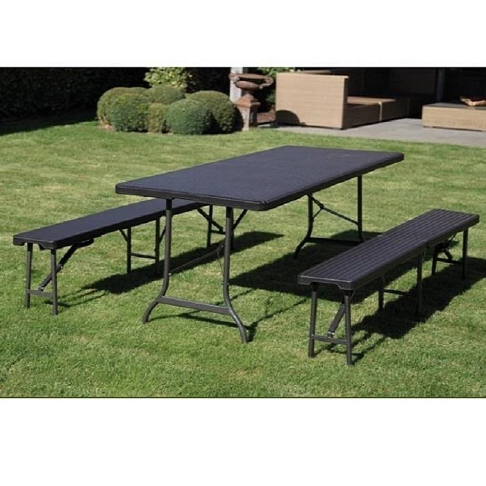 table banc pliable elegant salon en table banc pliant mtal pour balcon mybalconia with table. Black Bedroom Furniture Sets. Home Design Ideas