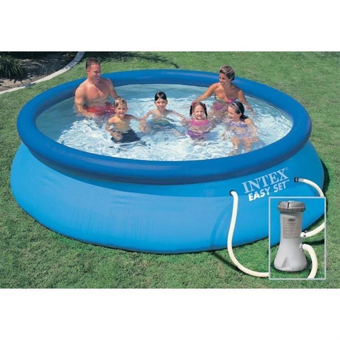 Kit piscine easy set 3m66 x 0m76 francky for Piscine easy set
