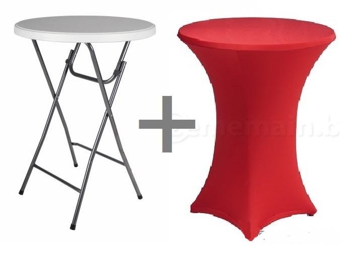 mange debout pliable housse rouge 80x110cm francky shop com. Black Bedroom Furniture Sets. Home Design Ideas