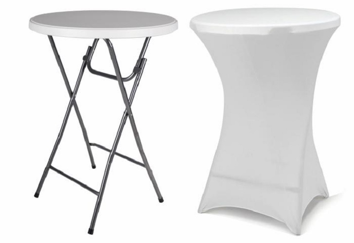 mange debout pliable housse blanche 80x110cm francky shop com. Black Bedroom Furniture Sets. Home Design Ideas