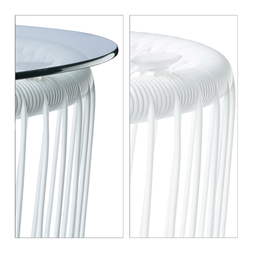 Best table basse de jardin blanche pictures awesome for Table basse blanche alinea