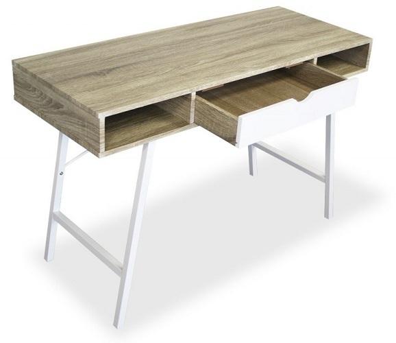 Bureau design et moderne en bois francky - Bureau en bois moderne ...