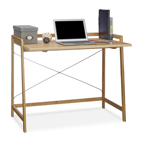 bureau d 39 artiste en bois de bambou francky shop com. Black Bedroom Furniture Sets. Home Design Ideas