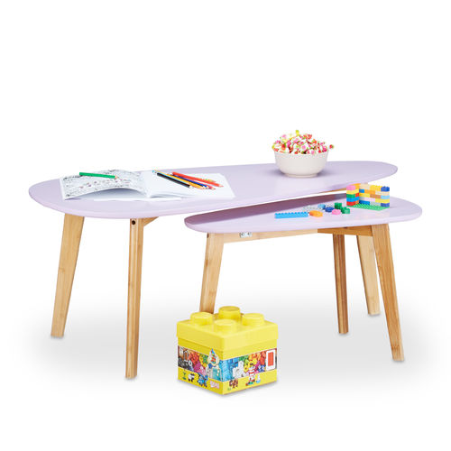 Tables gigognes Lilas