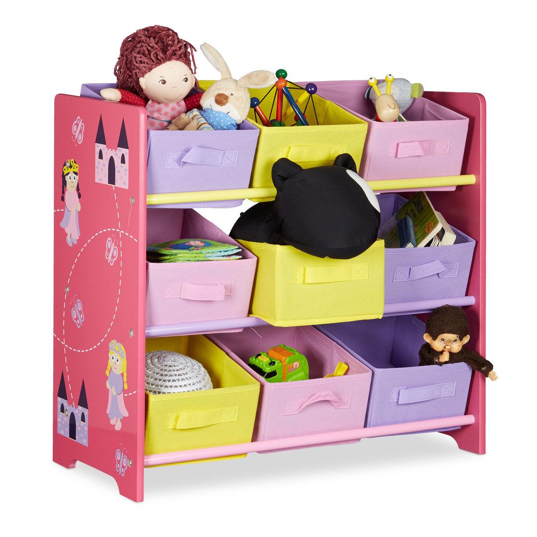 rangement pour enfant motifs princesse francky shop com. Black Bedroom Furniture Sets. Home Design Ideas