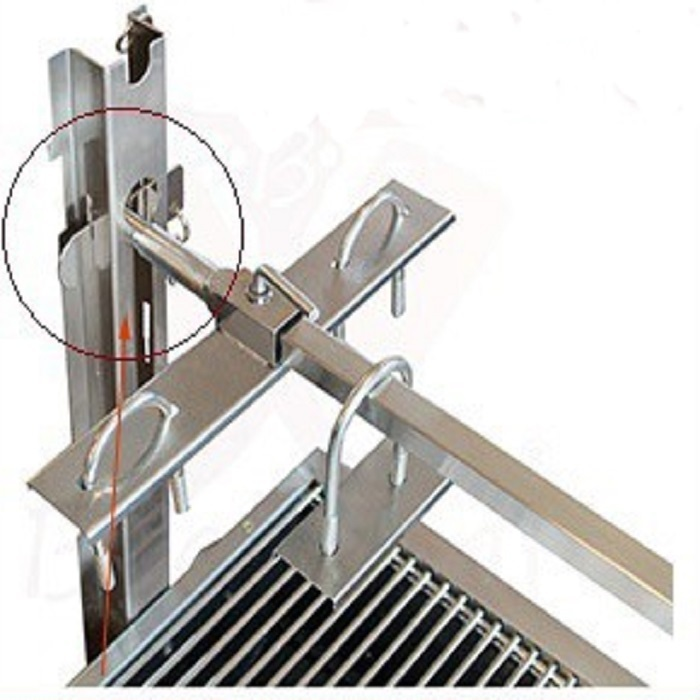 r tissoire pro inox tournebroche barbecue moteur. Black Bedroom Furniture Sets. Home Design Ideas