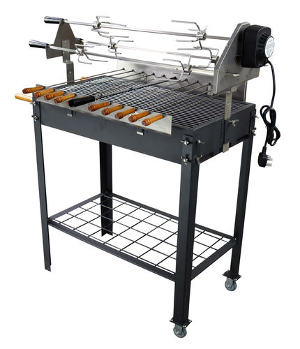 Barbecue Grill spécial brochettes rotative kebab
