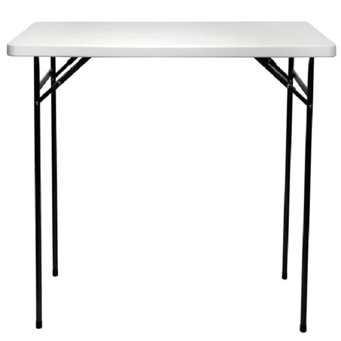 table mange debout pliante rectangulaire l 152 cm h 110 cm francky shop com. Black Bedroom Furniture Sets. Home Design Ideas