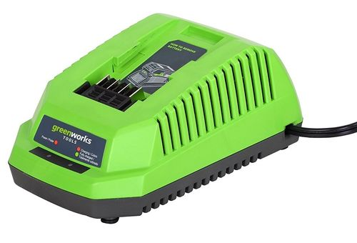 Chargeur 40V Lithium-Ion Greenworks Tools