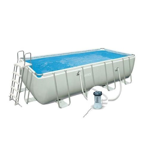 INTEX Ultra Frame Kit piscine rectangulaire tubulaire 4 x 2 x 1 m