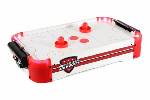 Mini Air-Hockey, hockey sur table avec éclairage LED