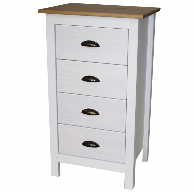 Commode moderne *Sabine* 4 tiroirs